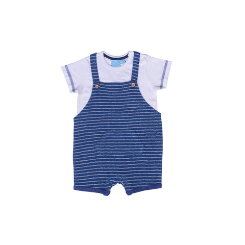 Image of Overall Romper 2PC Set