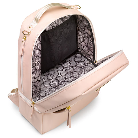 Image of Petunia Pickle Bottom Axis Diaper Bag (Blush)
