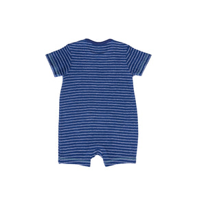 Reverse French Terry Romper