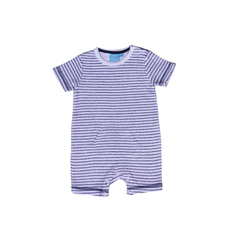 Image of Reverse French Terry Romper