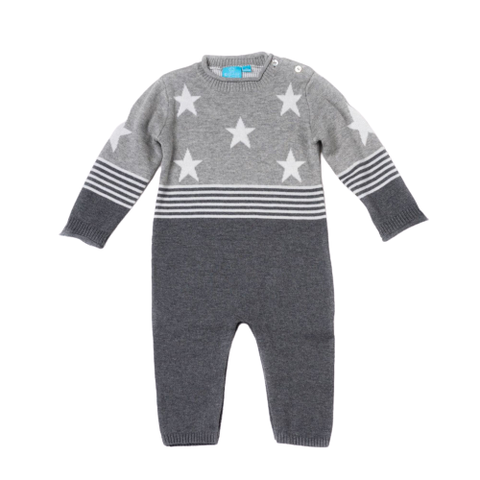 Image of Stars and Stripes Sweater Romper
