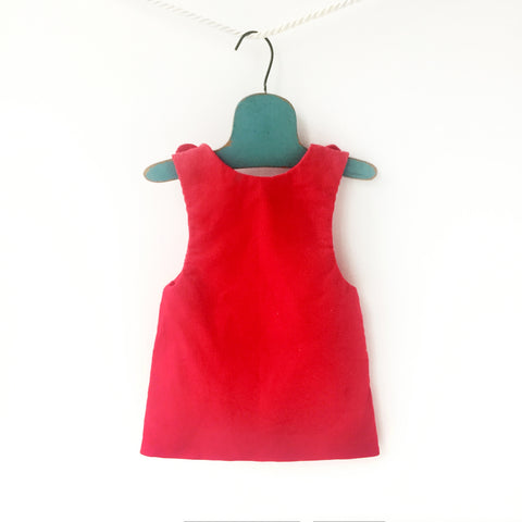 Image of baby girl corduroy outfit