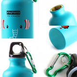 Lovely Cartoon 500ml Travel Cycling Aluminum Alloy Water Bottle Vacuum Cup