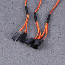 Load image into Gallery viewer, 3pcs Servo Cable Durable 15cm 3 Pins Male to Female Premium Extension Lead Cabl Servo Lead Wire for RC Helicopter