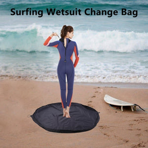 Surfing Wetsuit Diving Suit Change Bag Waterproof Pack Pouch