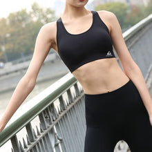 Load image into Gallery viewer, Women Sports Bra Tops High Impact for Fitness Yoga Running Pad Cropped Top Sportswear Tank Sports Push Up LKS