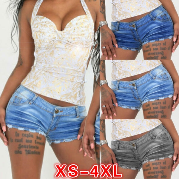 Fashion Women Casual Skinny Denim Shorts Sexy Summer Slim Short Jeans Woman Mini Hot Pant XS~XXXXL