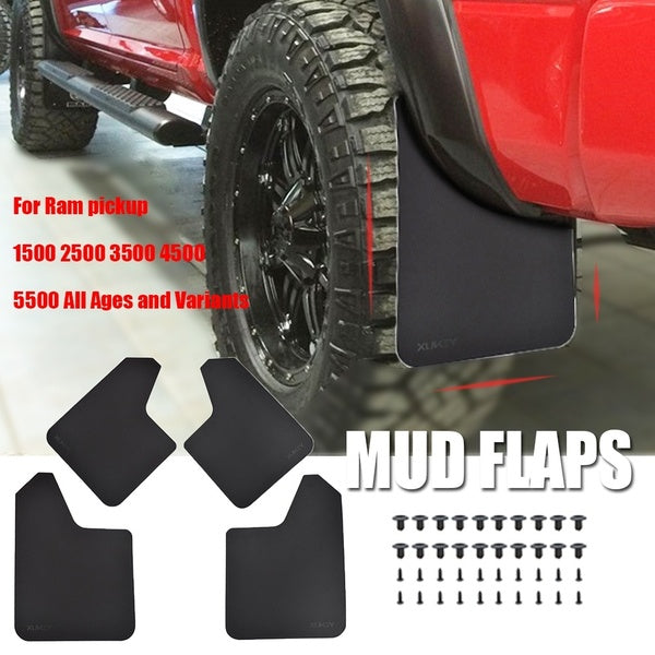 For Dodge Ram pickup 1500 2500 3500 4500 5500 SRT-10 4x4 DRW Rumble Bee Mud Flaps Mudflaps Splash Guards Mudguards Fender Flare