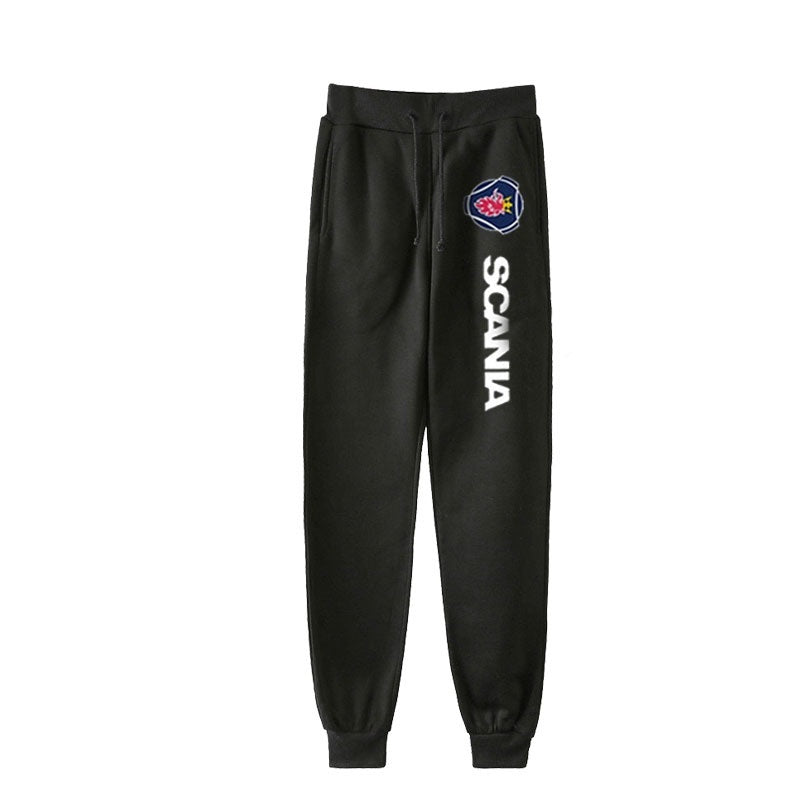 New Fashion Mens Womens Scania Printed Gym Joggers Long Pants SAAB Casual Sport Trousters Comfortable Sweatpants