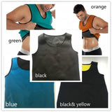 Men's Vest Hot Gym Power Belt Body Shapewear Men Shaper Shirt