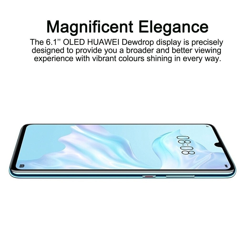 6.1 Inch Huawei P30 8G RAM 128GB ROM Dual SIM Octa-core Compatible With Android 9