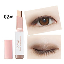 Load image into Gallery viewer, New Easy to Wear Velvet Double Color Matte Eye Shadow Stick 6 Shimmer Colors Luminous Eyeshadow Brand Makeup