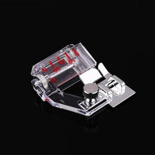 Load image into Gallery viewer, Home Snap-on Adjustable Bias Binder Presser Foot Feet for Sewing Machines Accessories Adjust Edge Presser Foot