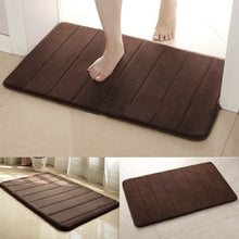Load image into Gallery viewer, Memory Foam Bath Pad Bathroom Water Absorbent Non-slip Mats Shower Carpet
