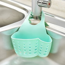 Load image into Gallery viewer, 2019 Kitchen Accessory Portable Bags Home Kitchen Tools Hanging Drain Bag Basket Bath Storage Sink Holder(Color:Blue,Coffee,Green,Pink)