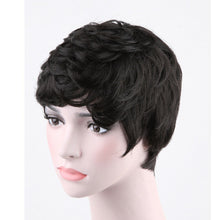 Load image into Gallery viewer, Brazilian Human Hair Short Pixie Wigs Straight Curly Wavy for Women Wig