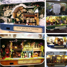 Load image into Gallery viewer, Box DIY Doll House Theatre Wooden Creative Handmade Miniature Countryside Notes Puzzle Toys Birthday Gift