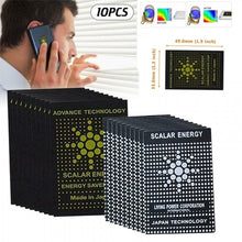 Load image into Gallery viewer, 10PCS/set Cell Phone Radiation Protection Stickers EMR EMF Protecting Technology