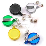 10 Pcs Hot Sale ID Name Card Holder Badge Retractable Reel ID Badge Lanyard Belt Clip Name Tag Holder with Belt Clip