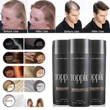 Load image into Gallery viewer, Beauty makeup concealer hair fiber 8 colors can be selected to help you solve the problem of hair loss