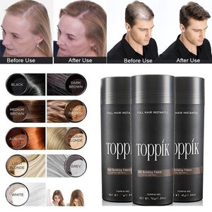 Beauty makeup concealer hair fiber 8 colors can be selected to help you solve the problem of hair loss