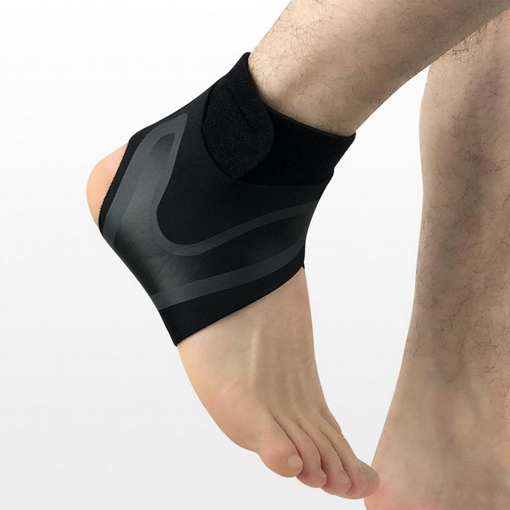 1PC Sport Ankle Support Compression Strap Achilles Tendon Brace Heel Sprain Protect