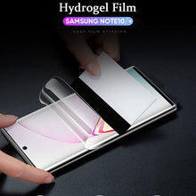 Load image into Gallery viewer, Not Glass Screen Protector for Samsung Galaxy Note 10 Plus Protector Hydrogel Protective Film for Samsung Note 10 Note10 Plus Pro Note 10+ Cover