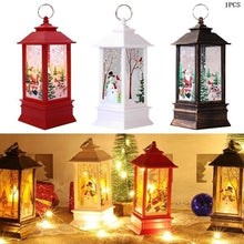 Load image into Gallery viewer, 1pcs Christmas New Year Family Decoration Fairy Light Candle White Snowman LED Flame Light