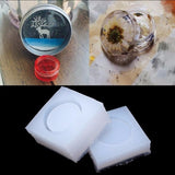 1 Set  DIY Round Silicone Storage Box Mold Resin Mould Jewelry Craft Handmade