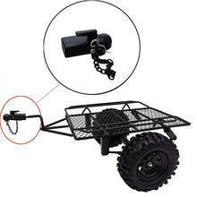 Load image into Gallery viewer, Metal Hitch Trailer Hook for SCX10 90046 Traxxas TRX4  1/10 RC Crawler Car
