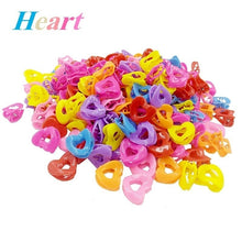 Load image into Gallery viewer, 100/50Pcs/20pcs Colorful Girls Hair Clips Kids Child Hair Clips Clamp Girls Hairpins Mini Claw Flower