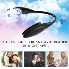 Load image into Gallery viewer, Mini Flexible Clip-On Bright Book Light Laptop LED Book Reading Light Lamp