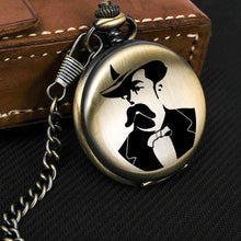 Load image into Gallery viewer, Pocket Watch with Chain Necklace Pocket Watches Gift From Wife for Lover,friends