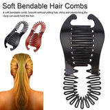 Woman Girls Elastics Hair Braider Scorpion Type Hair Holding Tool Ponytail Rubber Bands Hair Accessories