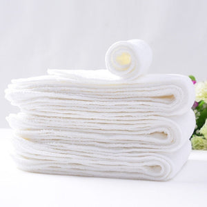 10PCS Reusable Baby Infant Nappy Cloth Diapers Soft  Washable Size Adjustable +10 Air cotton diapers