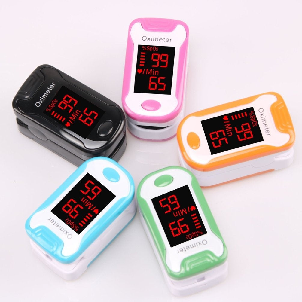 Convenient Finger Oximeter Finger Pulse Oximetry Monitor Medical Products