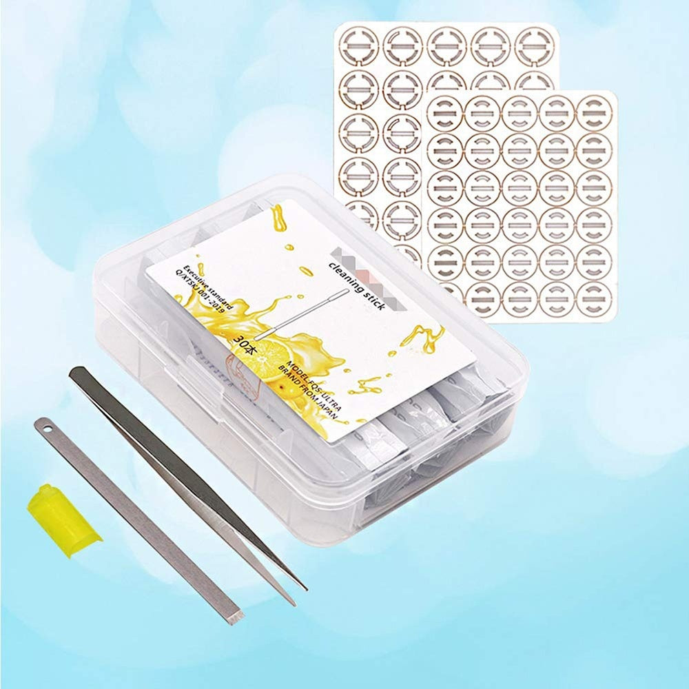 New Electronic Clean Tool 30Pcs Double Head Cleaning Cotton Swabs For Iqos Cleaning Stic