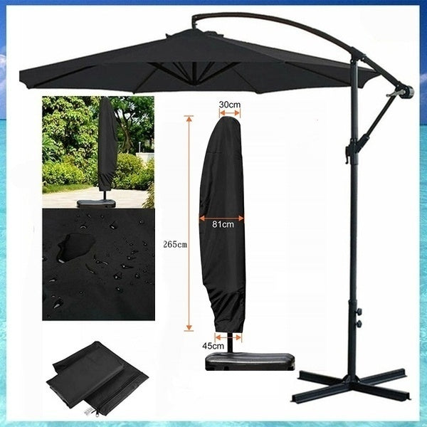 Large Parasol Cover Banana Umbrella Cover Cantilever Garden   Waterproof Cover(Only Including Cover) Individual