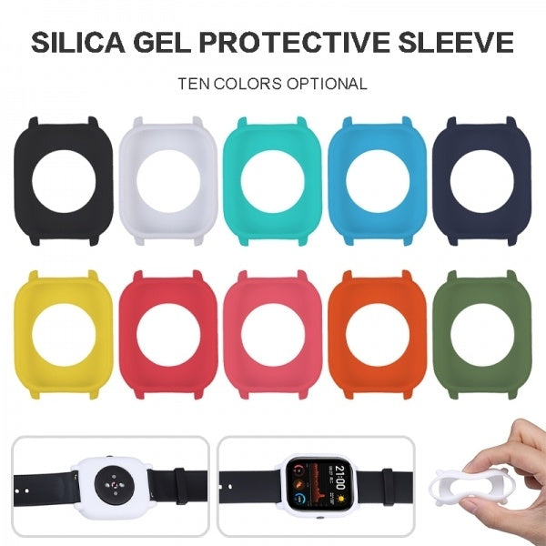 1pc  Soft Silicone Protective Cover Anti-fall Case For Huami Amazfit GTS Watch