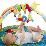 New Kids Infant Baby Girls Boys Cartoon Shape Wrap Around Bed Doll Toys