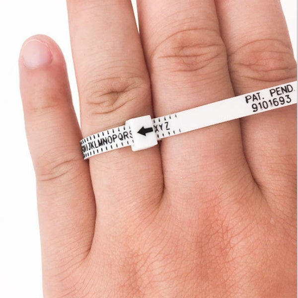 Wrist/Finger Gauge Accurately Measures Bracelet Sizes In UK/USA/Centimeter Size of Circumference