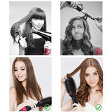 Hair Dryer Brush and Hot Air Brush, Air Hair Brush 3 in 1 Electric One Step Hair Dryer Volumizer with Negative Ion Curling Dryer Brush Styler, Hair Straightening Brush, Rotating Blow Dryer Brush