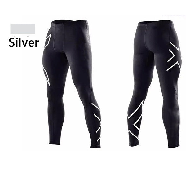 6 Colors  Men Women Compression Fitness Tights 2017 Fashion Pants Joggers Superelastic Stretch Pants Breathable Joggers TrousersXS-XXXL