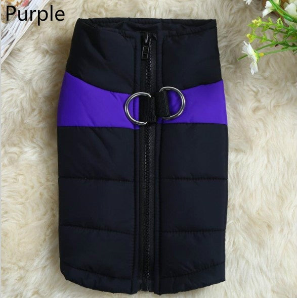 Pet Dog Waterproof Clothes Zipper Jacket Winter Wadded Jacket Warm Padded Pet Wadded Jacket for Small-scale Big Scale Dog Vest Dog Clothes!.!!