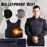 Bulletproof Body Armor Vest Tactical Military Gear Protection