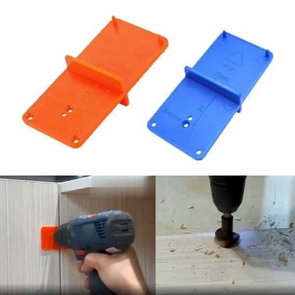35/40mm Hole Locator Cabinets Woodworking Tools Door Woodworking Punch Drill Hole Opener Drill Bit Guide Drill Hole Tools