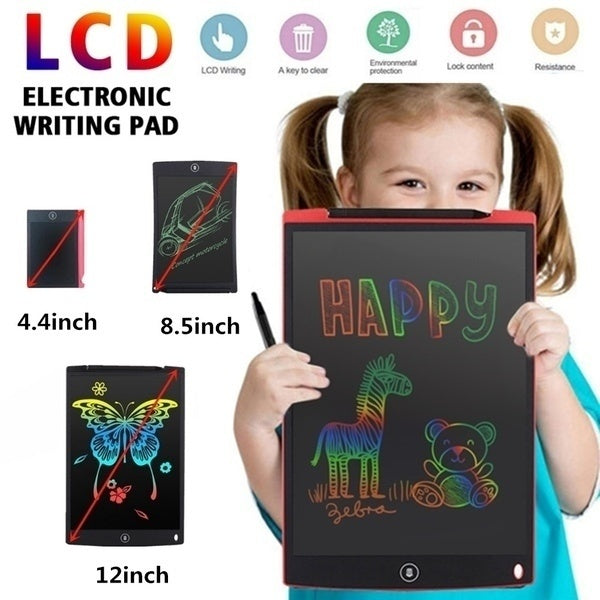 (4.5/8.5/12 Inch )Eye Protection Electronic Drawing Pad LCD Screen Writing Tablet Digital Graphic Drawing Tablets Electronic Handwriting Pad Board + Pen For Kids