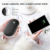Rechargeable Electric Hand Warmers 3600/5200mAh Power Bank Reusable Portable USB Battery Pocket Hand Warmer Best Gifts In Cold Winter