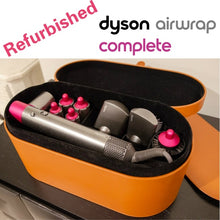 Load image into Gallery viewer, Refurbished Dyson Airwrap Styler Complete Set Includes Fuchsia Styler & 1.2/1.6 Inch Barrels & Firm/Soft Smoothing Brush & Round Volumizing Brush & Pre-styling Dryer