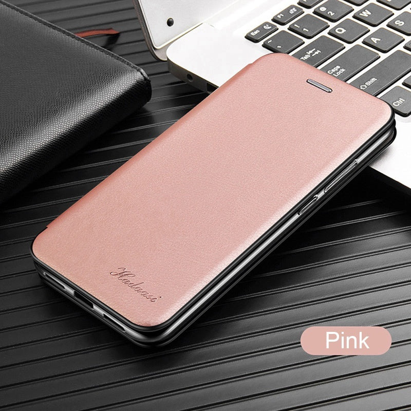 Luxury Retro Leather Case for Samsung A10 A20 A20e A30 A40 A50 A70 Magnetic Flip Stand Credit Card Case Cover for Samsung Note 10 Plus S8 S9 S10 Plus